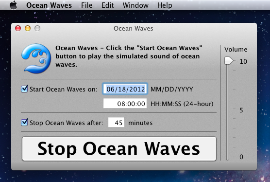 ocean waves screenshot