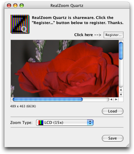 realzoom quartz screenshot